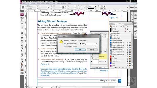 Updating two styles in one pass: InDesign CS3 One-on-One: Style Sheets
