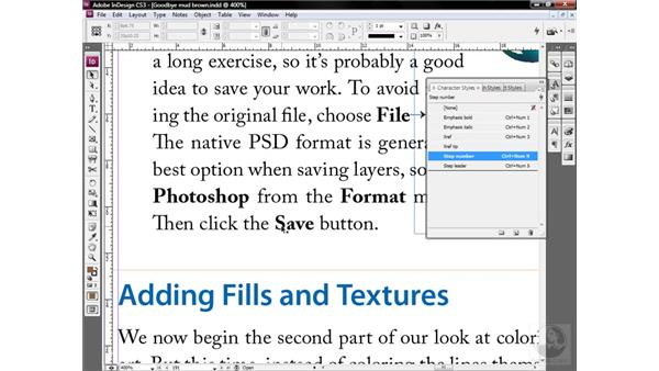 When in doubt, be obsessive: InDesign CS3 One-on-One: Style Sheets