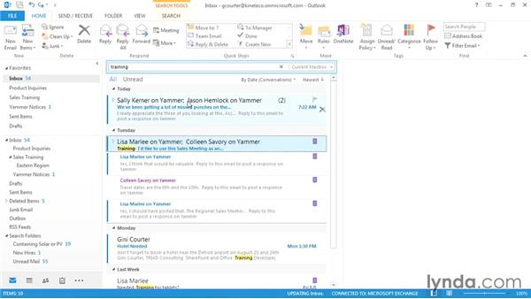 Customizing and using categories: Outlook 2013: Efficient Email Management