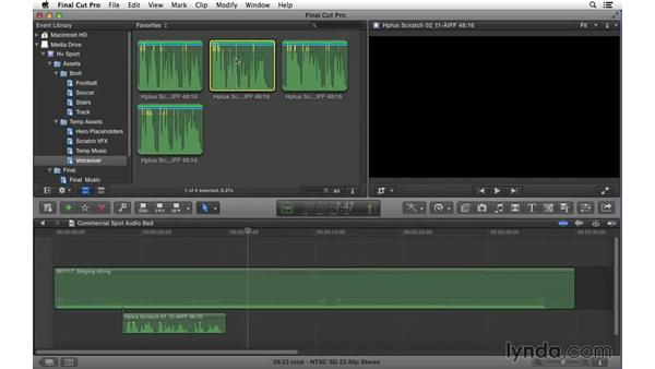 Welcome: Commercial Editing Techniques with Final Cut Pro X v10.1.x