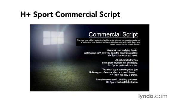 Examining pre-visualization materials: The script and storyboard: Commercial Editing Techniques with Final Cut Pro X v10.1.x