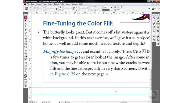 Troubleshooting the nested range: InDesign CS3 One-on-One: Style Sheets