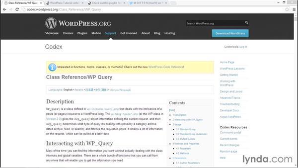 Exploring WordPress theme development with lynda.com: WordPress Developer Tips: Creating a Popular Posts Plugin