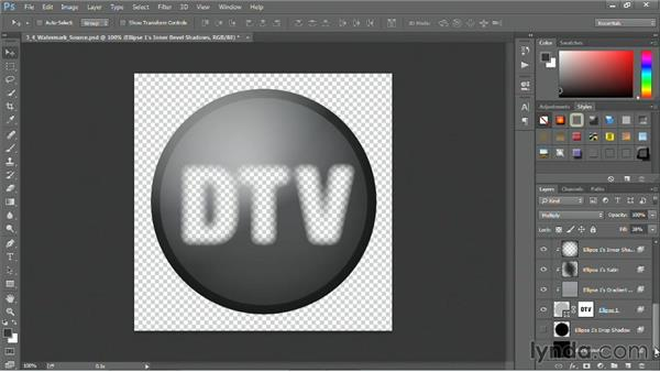 Creating a watermark: Motion Graphics for Video Editors: Working with Type