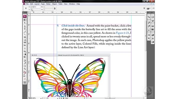 Setting precise guidelines: InDesign CS3 One-on-One: Style Sheets