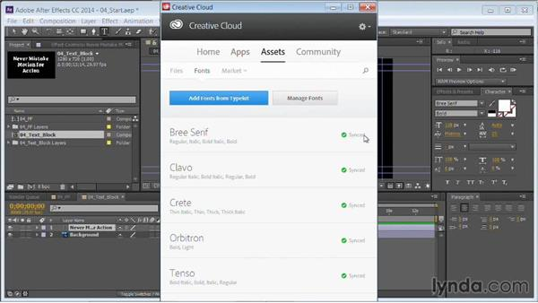 Entering or converting text: Motion Graphics for Video Editors: Working with Type