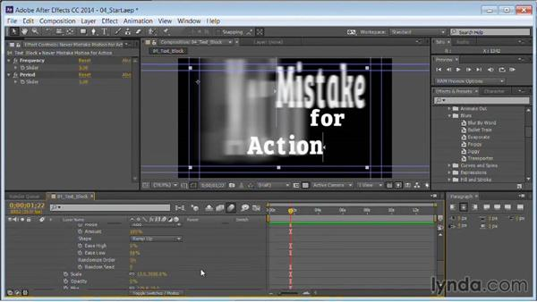 Customizing animation presets: Motion Graphics for Video Editors: Working with Type