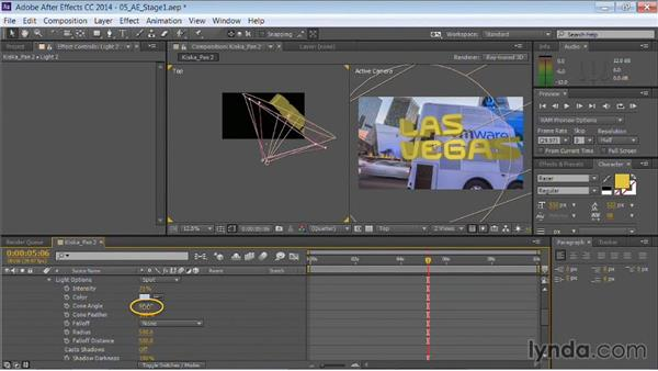 Extruding 3D text: Motion Graphics for Video Editors: Working with Type