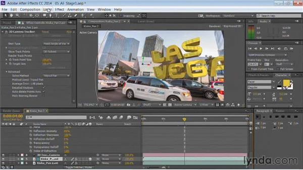 Using environment maps: Motion Graphics for Video Editors: Working with Type