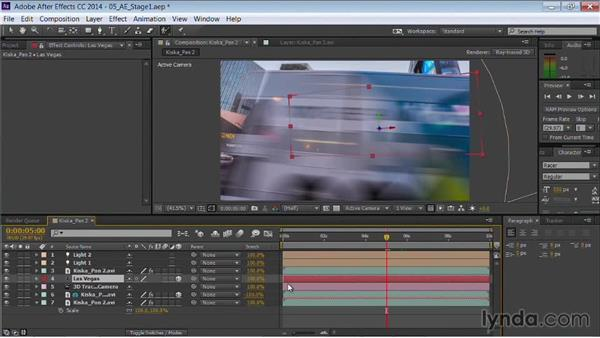 Using the text to reveal the footage: Motion Graphics for Video Editors: Working with Type