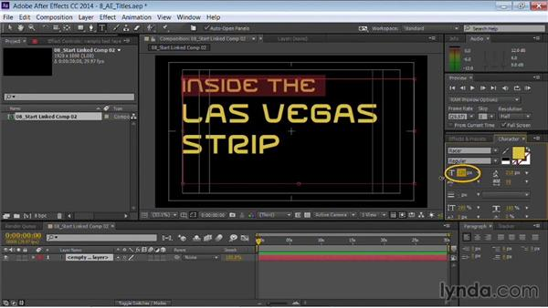 Using Dynamic Link with text for Premiere Pro and After Effects: Motion Graphics for Video Editors: Working with Type
