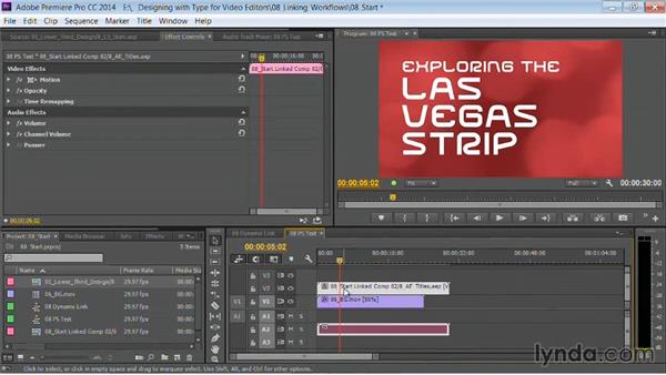 Live templates: Motion Graphics for Video Editors: Working with Type
