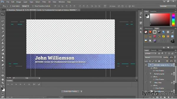 The Edit Original command for Photoshop graphics: Motion Graphics for Video Editors: Working with Type
