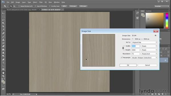 Implementation: Cutting and placing tiled wood flooring: 3D Textures: Wood