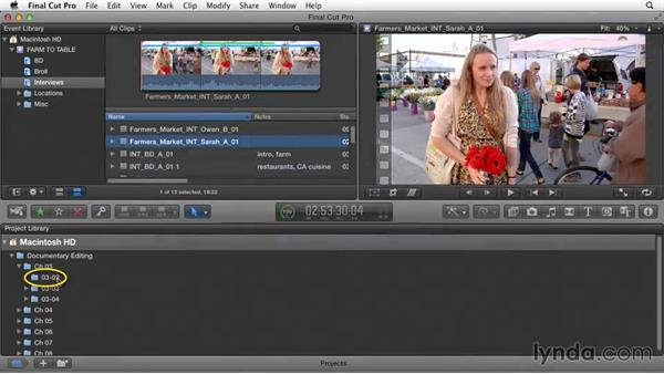 Welcome: Documentary Editing with Final Cut Pro X v10.1.x