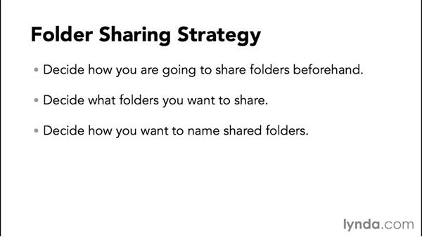 Introduction to file and folder sharing: Configuring Basic Microsoft Services