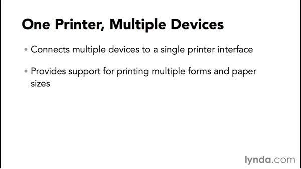 Some advanced printer configurations: Configuring Basic Microsoft Services