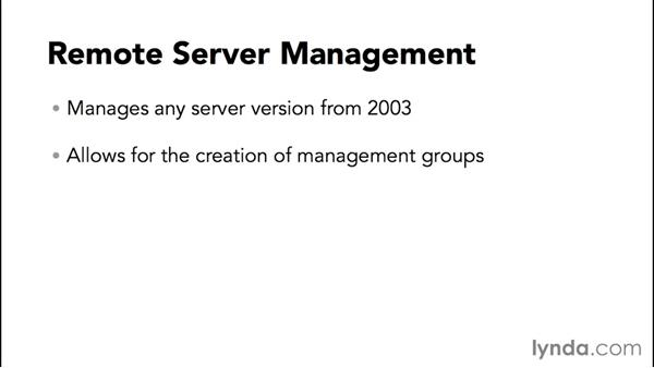 Introduction to remote server management: Configuring Basic Microsoft Services