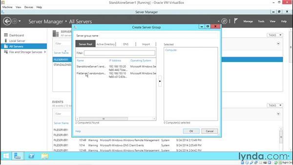 Basic remote server administration: Configuring Basic Microsoft Services