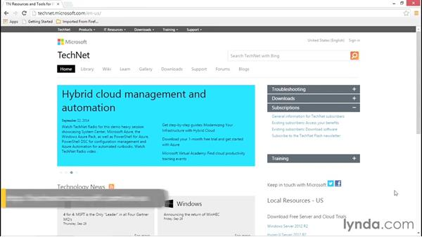 Next steps: Configuring Basic Microsoft Services