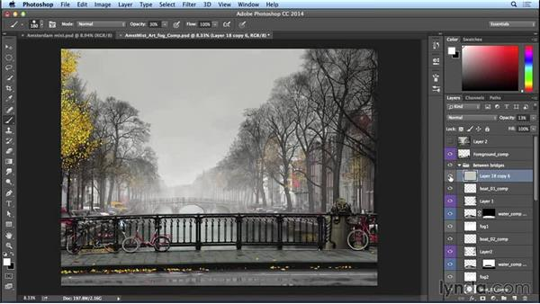 Creating layers for the fog: Part one: Bert Monroy: The Making of Amsterdam Mist, the Natural Elements
