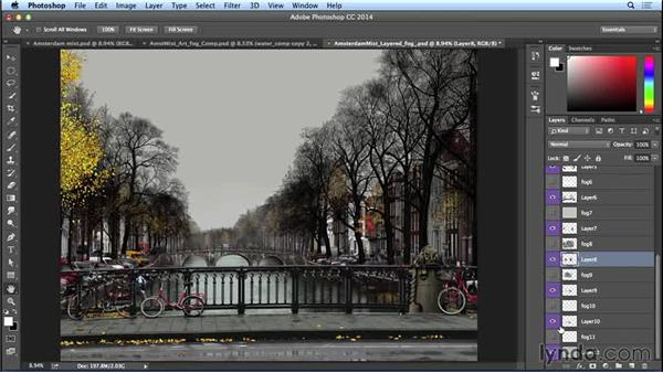 Creating layers for the fog: Part two: Bert Monroy: The Making of Amsterdam Mist, the Natural Elements
