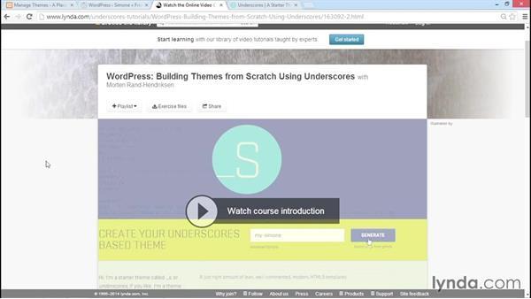 Using Simone as a best-practice example: WordPress Developer Tips: DRY Development