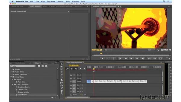Creating and tweaking effects en masse in Premiere Pro: Video Post Tips Weekly