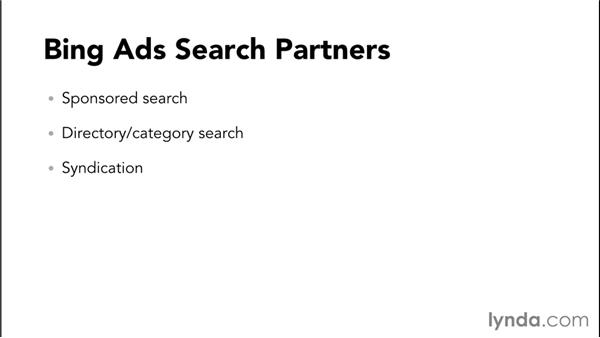 Understanding the search and search partner networks: Bing Ads Essential Training