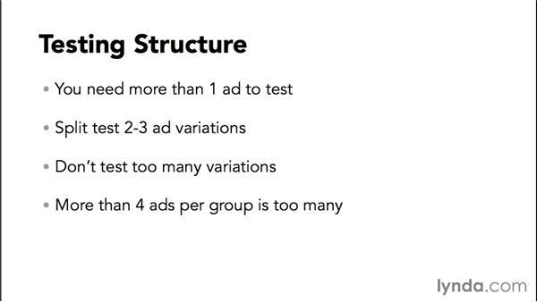 Launching ad-testing variants: Bing Ads Essential Training