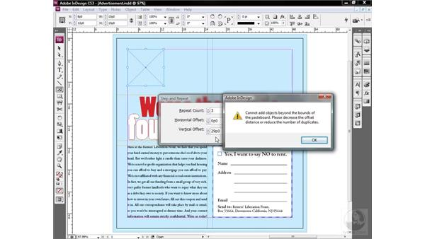 Step, Repeat, and Distribute: InDesign CS3 One-on-One: Style Sheets