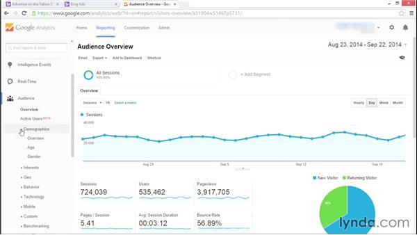 Understanding Bing data in Google Analytics: Bing Ads Essential Training