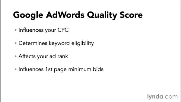 Comparing Bing and AdWords Quality Score: Bing Ads Essential Training