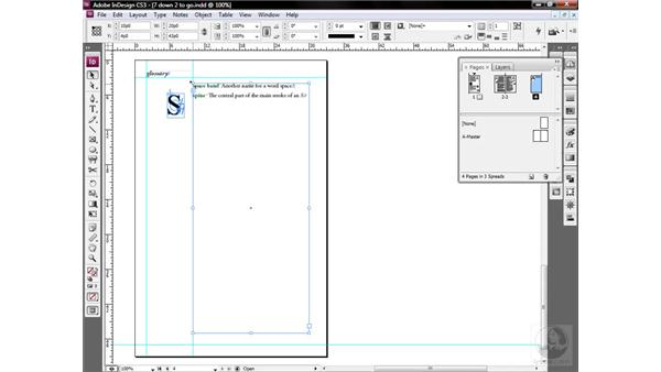 Moving and anchoring text and objects: InDesign CS3 One-on-One: Style Sheets
