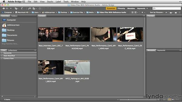 The importance of organizing assets: Premiere Pro Guru: Sync Sound Workflow