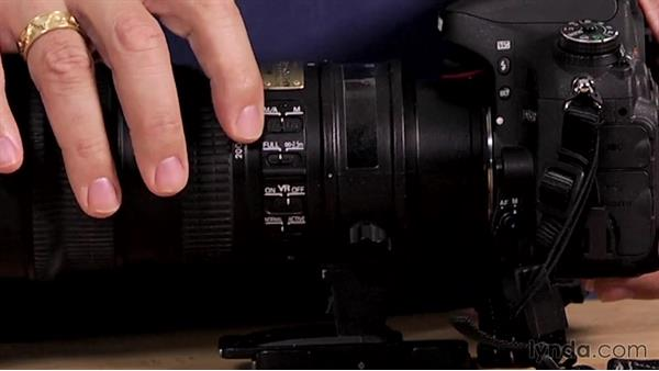 Lens controls: Up and Running with the Nikon D600 and D610