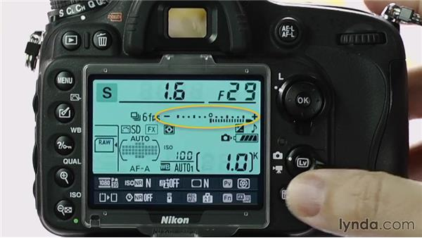 Adjusting exposure compensation: Up and Running with the Nikon D600 and D610