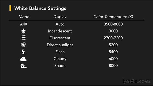 White balance: Up and Running with the Nikon D600 and D610
