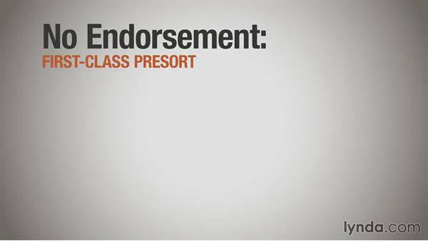 Ancillary endorsements: Print Production Essentials: Direct Mail