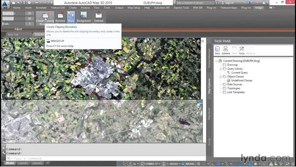 Modifying raster images: AutoCAD Map 3D Essential Training
