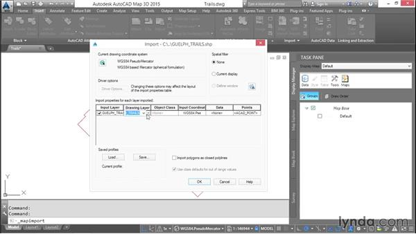 Importing GIS data: AutoCAD Map 3D Essential Training