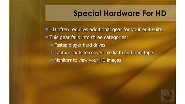 Special hardware for HD: HD Workflows with Final Cut Studio 2