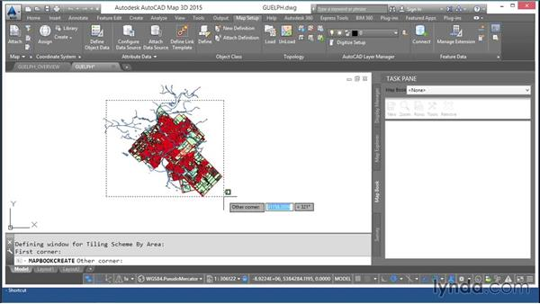 Publishing a map book: AutoCAD Map 3D Essential Training
