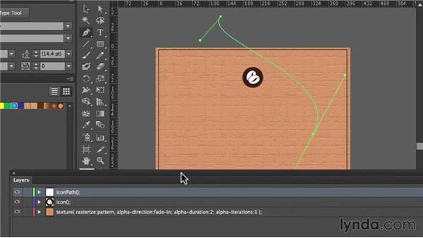 Animating and timing elements: Design the Web: Illustrator to Animated HTML5 Canvas