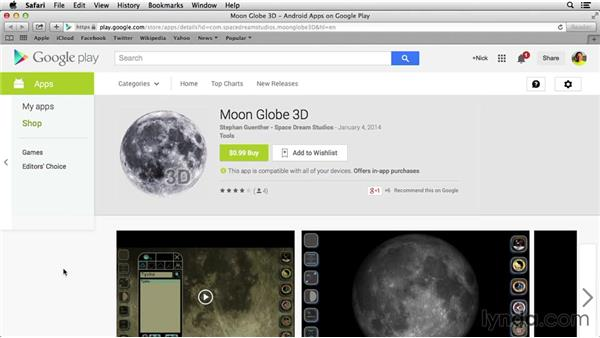 Using mobile apps for amateur astronomy: Home Techonomics