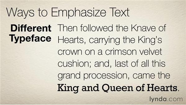 17 Avoid all caps and underlined text: The 33 Laws of Typography