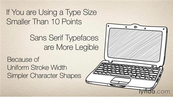 33 Choose serif or sans serif, based on aesthetics: The 33 Laws of Typography