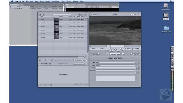 Capturing DVCPRO HD: HD Workflows with Final Cut Studio 2