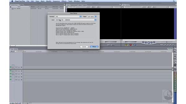 Capturing AVCHD: HD Workflows with Final Cut Studio 2