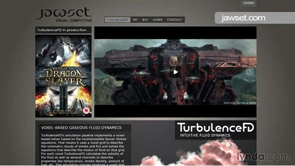 Wrapping up: TurbulenceFD for CINEMA 4D Essential Training